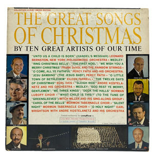 The Great Songs Of Christmas Vinyl 1961